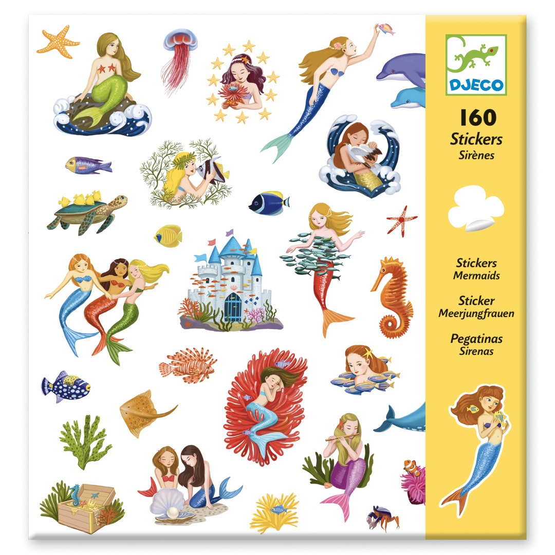 stickers - mermaids